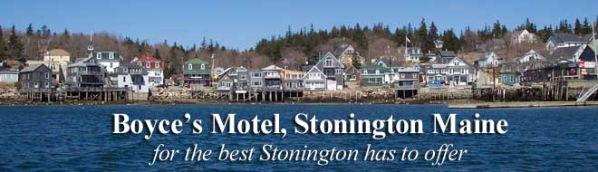 Boyce's Motel, Stonington, maine